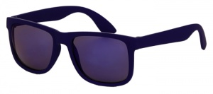 Kool-Kidz children's sunglasses junior mat blue