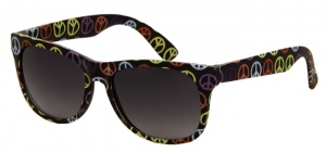 Kool-Kidz children's sunglasses peace junior black