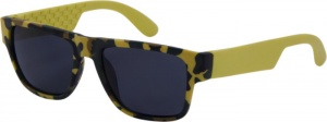 Kool-Kidz Sunglasses junior army print yellow (4440)
