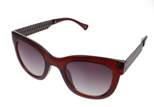 Kost sunglasses ladies brown with gray lens (16-128)