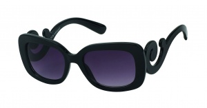 Kost sunglasses ladies black with grey lens (18-136)