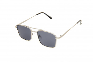Kost sunglasses men rectangular gold/blue (20-142)