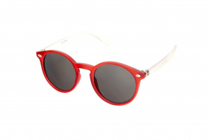 Kost sonnenbrille junior rot/transparent (K-122)