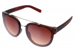 Kost sunglasses unisex brown with brown lens (16-167)