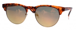 Kost sunglasses unisex brown/red 18-087