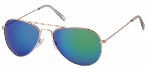 Kost sunglasses unisex gold/green 18-077