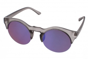 Kost sunglasses unisex gray with blue lens (16-008B)