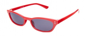 Kost sunglasses unisex oval red/smoke oval