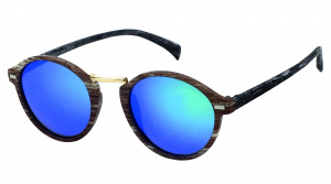 Kost sunglasses unisex round blue/brown (PZ20-051)