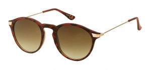 Kost sunglasses unisex round brown/panter/brown (20-144)