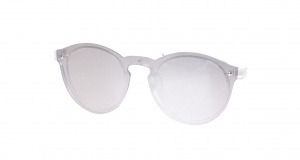 Kost sunglasses unisex transparent/silver