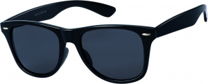 Kost sunglasses Wayfarer unisex grey/black large (20-186)