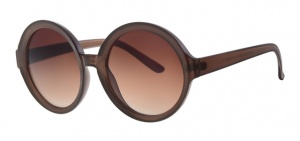 Level One sunglasses Femmeladies cat. 3 round brown (L6235)