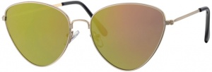 Level One sunglasses Femme ladies cat. 3 silver/gold (L5127)