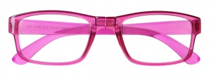Lifetime-Vision reading glasses foldable ladies pink