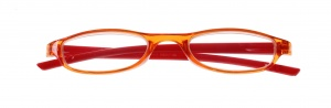 Lifetime-Vision Lesebrille unisex orange