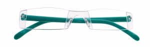 Lifetime-Vision reading glasses without frame unisex blue