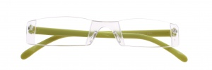 Lifetime-Vision reading glasses without frame unisex green