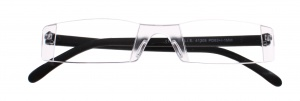 Lifetime-Vision reading glasses without frame unisex black