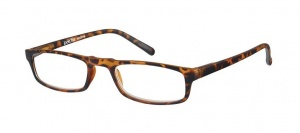 LookOfar reading glasses Le-0183B Animo brown strength + 2.50