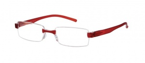 LookOfar reading glasses Le-0184D Toulon red