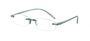 LookOfar reading glasses Memory grey (le-0103E)