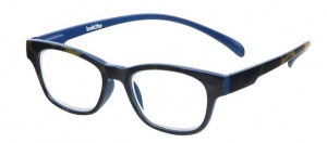 LookOfar reading glasses Wayline-Monkey havanna blue +2.50 (le-0167D)