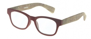 LookOfar reading glasses Wood red/brown (le-0166C)