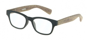 LookOfar reading glasses Wood black/brown (le-0166A)