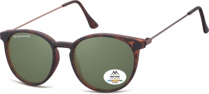 Montana by SGB zonnebril unisex bruin/groen (turtle) (MP33)