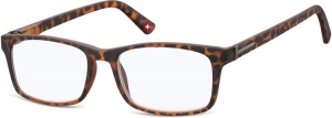 Montana reading glasses blue light filter brown (blfbox73a)