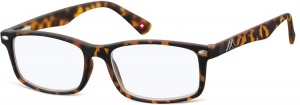 Montana reading glasses blue light filter brown (blfbox83a)