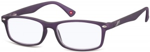 Montana reading glasses blue light filter purple (blfbox83d)
