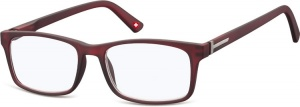 Montana reading glasses blue light filter red intensity +1.00 (blfbox73c)