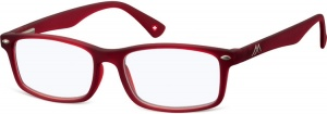 Montana reading glasses blue light filter red intensity +1.00 (blfbox83b)