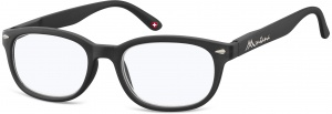 Montana reading glasses blue light filter black