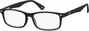 Montana reading glasses blue light filter black (blfbox83)