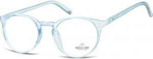 Montana reading glasses HMR55 blue/transparent