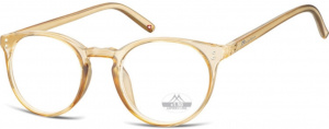 Montana reading glasses HMR55 gold/transparent