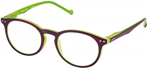 Moses Libri_x reading glasses Bicolor green / purple