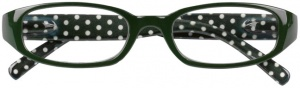 Moses Libri_x reading glasses Points green/white