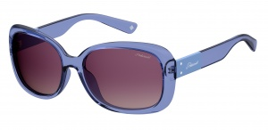 Polaroid sunglasses 4069/G/S/Xpjp/Jr ladies gradient blue/purple