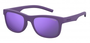 Polaroid sunglasses 8020/S2Q1/MF junior wayfarer violet/purple