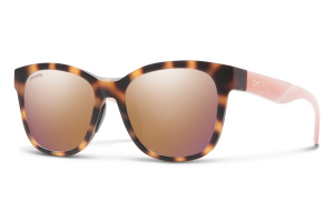 Smith Caper sunglasses matt brown havana/ pink