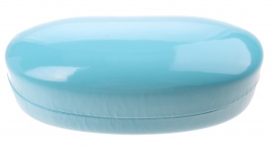 TOM glasses case 16 x 7,5 cm ladies light blue
