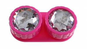 TOM Linen box of pink diamonds