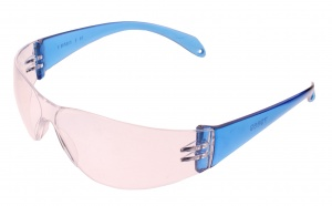 TOM safety glasses unisex blue one size