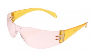 TOM safety glasses unisex yellow one size