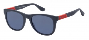 Tommy Hilfiger sunglasses TH1559/S FLL/KU men's blue/red