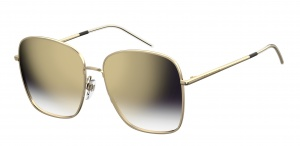 Tommy Hilfiger sunglasses TH1648/S LKS/08 women's gold with mirror lens